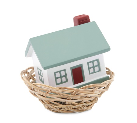 House in a basket Stock Photo - 9991304