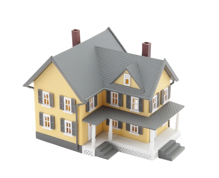yellow house: Yellow  house model