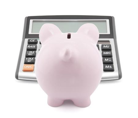 cuenta bancaria: Ahorro calcular Foto de archivo