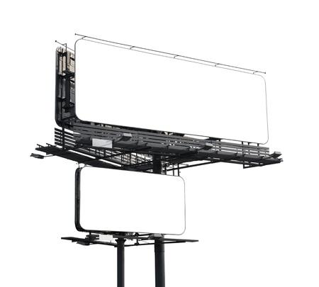 public market sign: Blank billboard