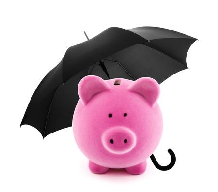 safety deposit box: Financial insurance Stock Photo