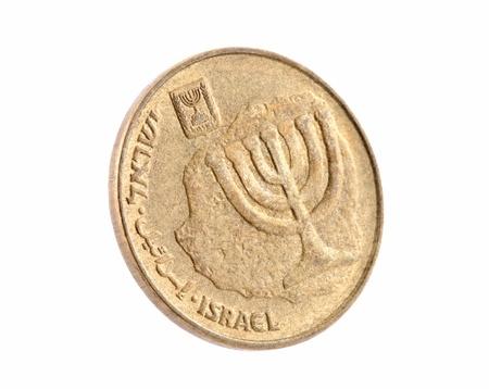 israeli: Diez centavos Shekel israel� nuevo
