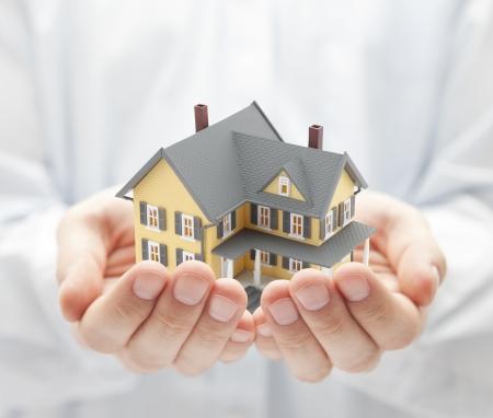 ubezpieczenia: Twój nowy dom Zdjęcie Seryjne