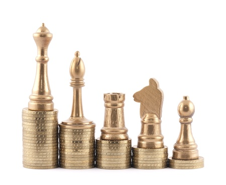 games of chance: Investment strategy Stock Photo
