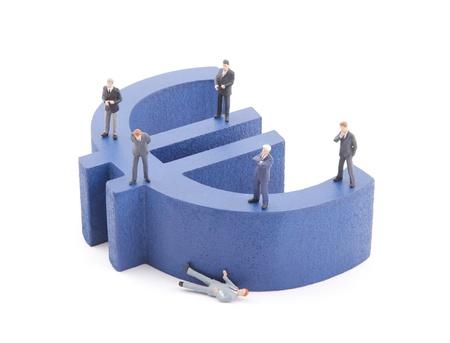 European economic crisis photo