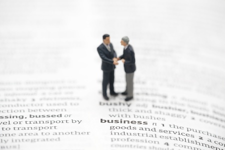 Business definition in a dictionary Stock Photo - 13087592