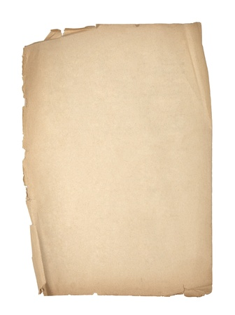 papyrus: Old sheet of paper  Stock Photo