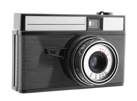 Old photo camera Stock Photo - 16259525