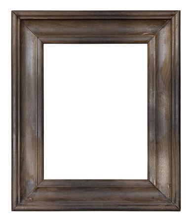古い木製の写真フレーム 写真素材
