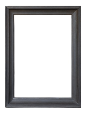 rectangle frame: Old wooden picture frame Stock Photo