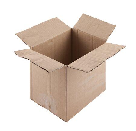 Old cardboard box Stock Photo - 16259565