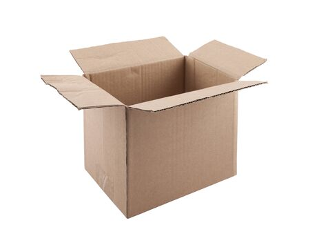 Old cardboard box Stock Photo - 16380227