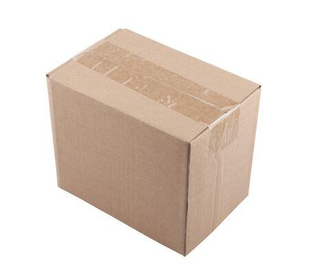 Old cardboard box Stock Photo - 16380237