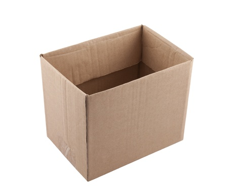 Old cardboard box  Stock Photo - 16380234