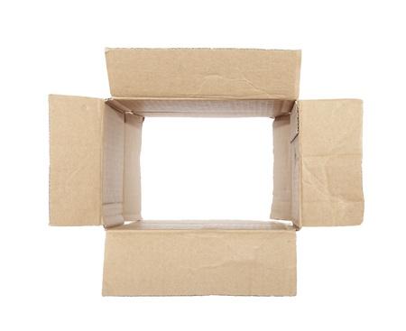 Old cardboard box Stock Photo - 16380254