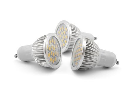 Led light bulbs Stock Photo