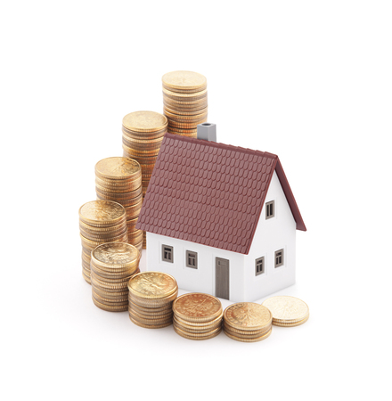 Invest in real estate concept photo