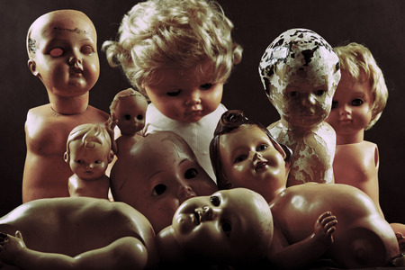 freaky: Creepy dolls