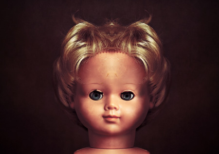 freaky: Creepy doll face