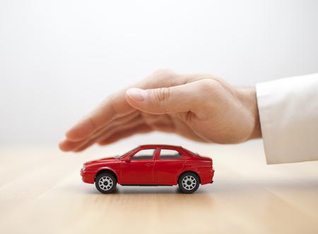 自動車保険 写真素材