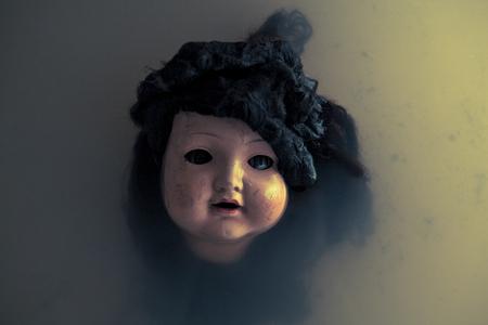 creepy: Creepy doll face