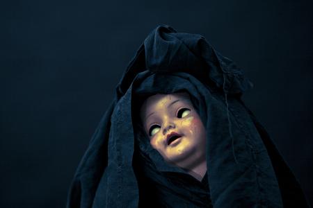 dread: Creepy doll face