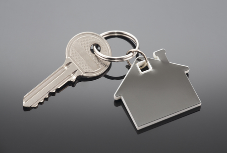 solution: House key with clipping path