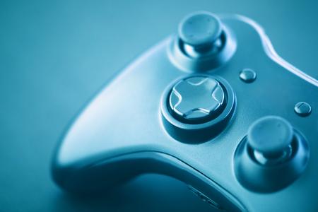 Zdjęcia makro kontrolera gier wideo
