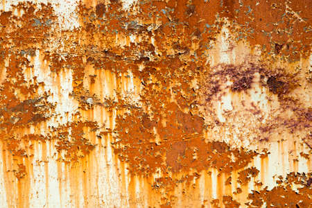Background texture of scratched rusted steel