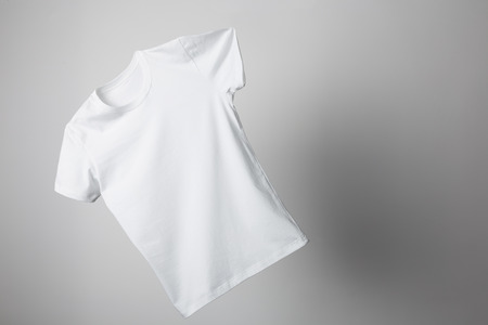 Flying T-Shirt Mock-up, ready to replace your design
