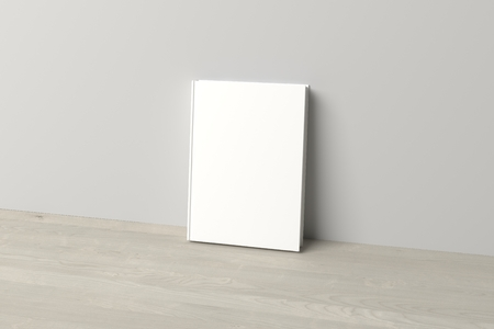 hardcover: Blank hardcover Book Cover Mock up