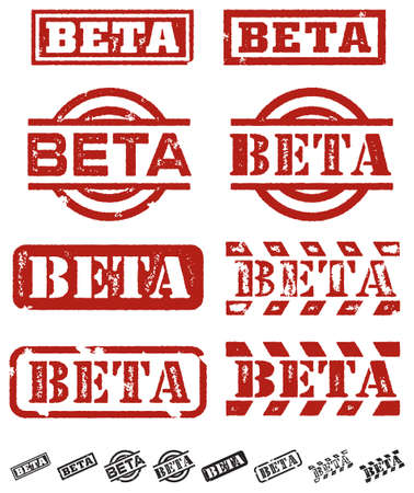 Beta Stamp Imprint