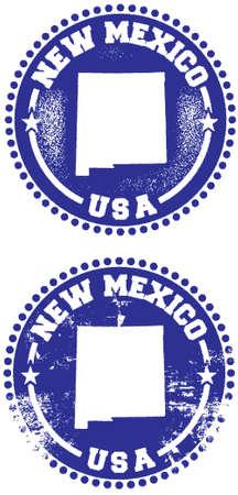 design: New Mexico USA Stamp Design