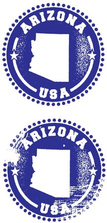 arizona: Arizona State Stamp
