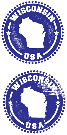 state of wisconsin: Wisconsin State Stamp