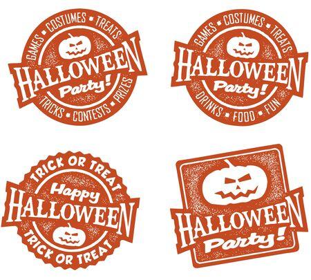 할로윈 파티 우표