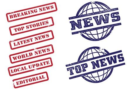 トップ ニュース スタンプ