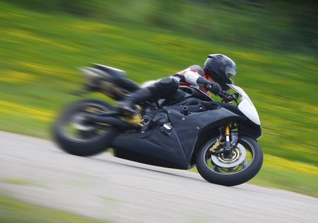 racing bike: Racing Motorcycle Blur