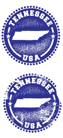 tennesse: Tennessee Sellos Vectores