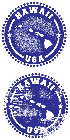 Hawaii Stamps Vector
