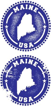 maine: Maine Stamps