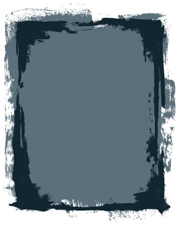 Vector Grunge Frame & Background