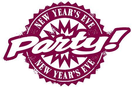 fin de a�o: New Years Eve Party Vectores