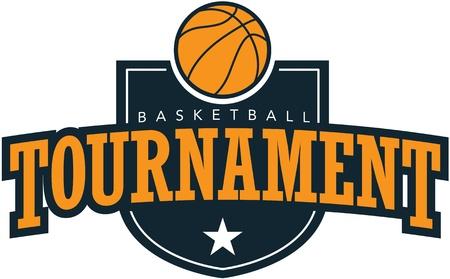 baloncesto: Torneo de Baloncesto gr�fico Vectores