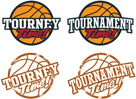 terrain de basket: Basketball Tournament Graphics