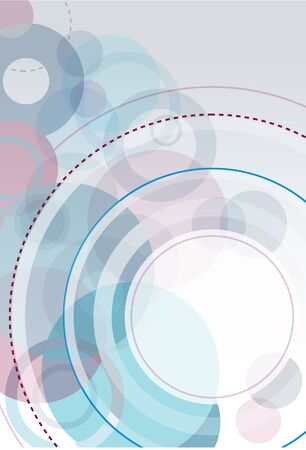 Abstract Vector Circle Background