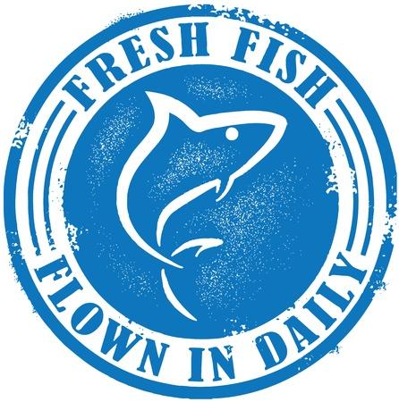 Frische Fische auf tägliche Geflogen Standard-Bild - 11996592