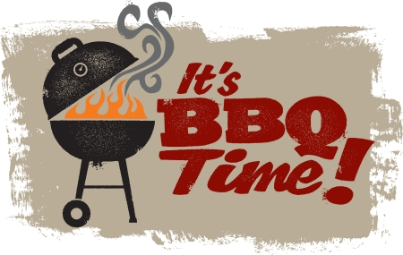 It s BBQ Grilling Time Vector