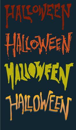 Custom Halloween Text