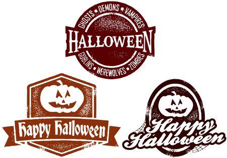 happy halloween: Happy Halloween Stamps